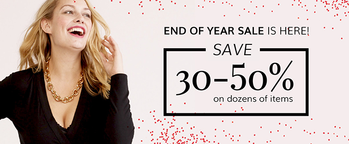 End Year Sale 2017