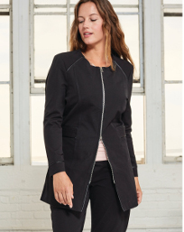 Stretch Woven Coat $199