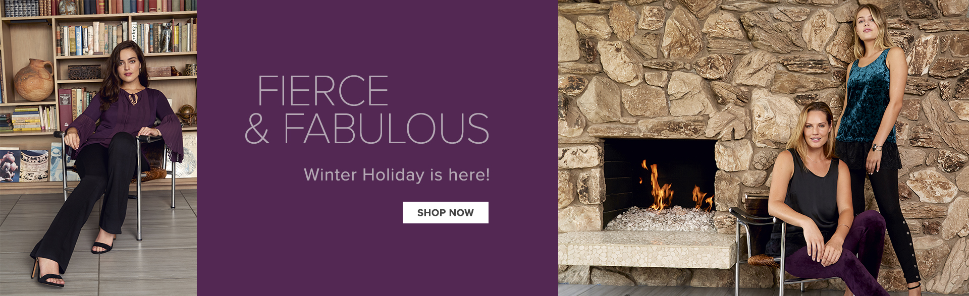 Fierce and Fabulous - Winter Holiday is here
